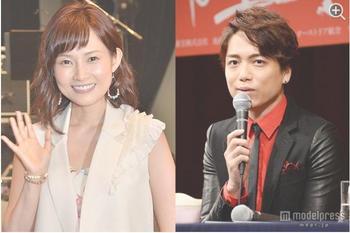 安倍なつみ(左)、第1子妊娠 夫・山崎育三郎と連名で発表(C)モデルプレス.jpg